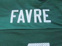 NFL Brett Favre # 4 Green Bay Packers Reebok Players Inc Size XL Green Jersey