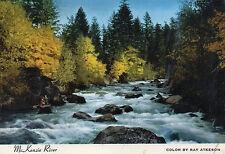 postcard USA  Oregon Mc Kenzie River    unposted