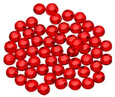 Estrás Pegatinas 210 Piezas 10MM Rojo Hotfix Pegatinas Brillantes Decoraciones