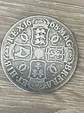 More details for charles ii, crown, 0.925 silver, spink 3357, lovely piece of history