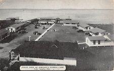 1940's? BEV Front of Johnson's Fishing Camp Lake Apopka FL advertising card