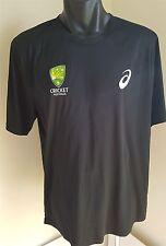 Cricket Australia Jersey Shirt Size Men's Large Asics Cricket Australia