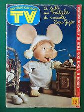 SORRISI E CANZONI TV n.51/1974 (ITA) Rivista TOPO GIGIO MINO REITANO MARCELLA
