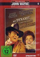 DVD NEU/OVP - Mit Dynamit und frommen Sprüchen - John Wayne & Katherine Hepburn