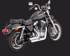 VANCE & HINES SHORTSHOTS STAGGERED CHROME FINISH FOR HARLEY SPORTSTER 1999-2003