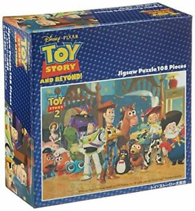 108 Piece Jigsaw Puzzle Toy Story Collection (18.2 x 25.7 cm)