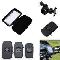 Motorcycle Bike Handlebar Holder Mount Waterproof Bag Case For Smartphone GPS