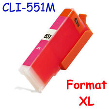 Cartouches d'encre génériques pour imprimante Pixma IP7250 ( Canon 550 551 XL )