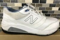 *Amputee* New Balance White Leather 928V2 Rolland Walking Shoes Sizs 8.5 W Men's