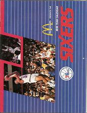 1989 Philadelphia 76ers Team Calendar Charles Barkley