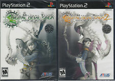 Shin Megami Tensei Digital Devil Saga 1 and 2 Double Pack PS2 PlayStation 2