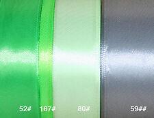 Satinband 100 50 25 6mm x 22,8 METER Hochzeit Dekoband Geschenkband Antennenband