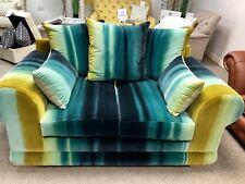Harlequin Fabric Velvet 2 Seater Sofa**Reduced**