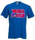 """America USA Pride """"F**K YEAH"""" Fourth of July T-shirt S-XXXXXL"""