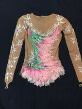 Rhythmic Gymnastics Girls Competition Leotard Sz 9-11 Years Used