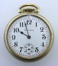 1910 South Bend The Studebaker Pocket Watch 21 Jewel RARE 229