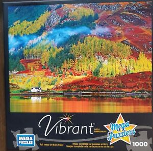 Mega Puzzles Vibrant Autumn Colors In Highlands 1000 Piece Jigsaw Puzzle Fall