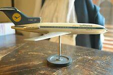 VINTAGE BOEING 727 LUFTHANSA MATTHYS VERKUYL MODEL AIRPLANE JET MADE IN HOLLAND