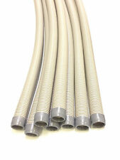 """Pool Suction Cleaner Hose 8 Pack Gray 48"""" For Navigator Pool Vac Ultra G3 32 Ft"""