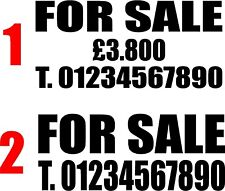 X-Large For Sale - Catering - House - Car - Trailer - Van - Bouncy Castle Signs