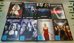 Battlestar Galactica - Staffel 1-4 + Pilotfilm auf DVD