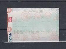 RMV 2002, Monatskarte Die Bahn 105 von 4000 nach 5000 (111)