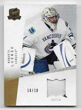 09/10 THE CUP BASE GOLD GAME USED PATCH #77 Roberto Luongo #10/10 2CLR