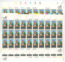 More details for usa-united states 1978 13c postage black heritage 4 sheets scot 1744