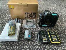 Nikon D5 Digital SLR Dual XQD Slots Camera Body + Box & Accessories