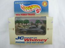 Hot Wheels '98 JC Whitney '40s Ford Truck Brown Vari Mint In Box With Protector