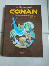LES CHRONIQUES DE CONAN TOME 10 1980 (2) (PANINI) NEUVE, NON LUE !!!