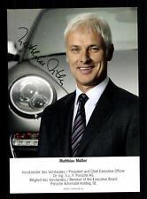 Matthias Müller Vorstandsvorsitzender der Volkswagen AG Original # G 27986