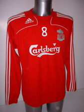 c9cd4cf085d Liverpool Adidas Training Adult L Football Soccer Gerrard Shirt Jersey  Jumper R