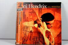 JIMI HENDRIX: LIVE AT WOODSTOCK 2CD, JAPAN MINI LP, OBI, RARE, OOP