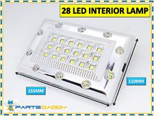Blanco Brillante 42 LED Coche Furgoneta Vehículo Techo Techo Lámpara Luz Interior 12V 2013