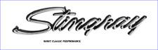 "1974-1976 Corvette Front Fender Emblem, ""Stingray"" GM Reproduction New USA Ea."