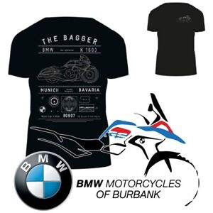 Iconic BAGGER T-Shirt Genuine BMW Motorrad Motorcycle STYLE