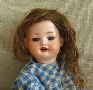 N°11/ Petite poupée ancienne de caractère, P.M Grete? DEP de 22 cm environ.