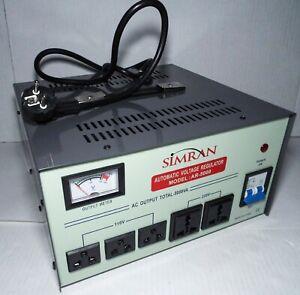 SIMRAN AR-5000 With Stabilizer 220V 110V Transformer 5000 Watt
