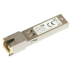 MIKROTIK SFP+ to RJ45 10Gbps Copper Module (S+RJ10)