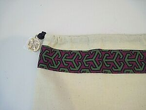 """TORY BURCH 15""""x14"""" Dust Bag Storage Cover Drawstring 100% authentic"""