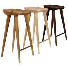 "NEW! MODERN CARVED WOOD BARSTOOL -30"" CONTEMPORARY BAR/COUNTER TRACTOR STOOL"