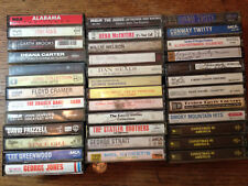 COUNTRY CASSETTE TAPES PATSY CLINE GEORGE JONES CONWAY TWITTY + CHRISTMAS