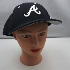 Akron University Zips Hat Blue Fitted 7 3/4 Baseball Cap New ST20