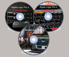 Logic Pro X 101 Tutorial  Basic to Advanced A- Z Video Tutorial Series - 4 DVDs