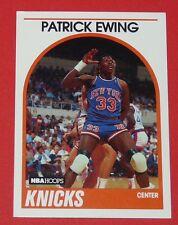 # 80 PATRICK EWING NEW-YORK KNICKS 1989 NBA HOOPS BASKETBALL CARD