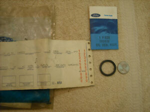 Ford 195820 / D5NNA125A seal for 703 series Extra HD loader valve body