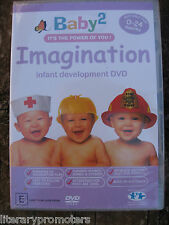 BABY 2 IMAGINATION/SENSATIONS DVD Infant Development It's the Power of You Baby2