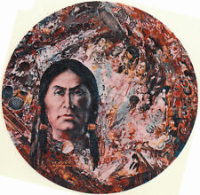 Ceramic Decals Native American Indian Spirit Collage