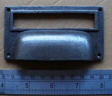 Paquet de 12 Large Fer Coulé Antique Design Carré étiquette Cadre Gobelet